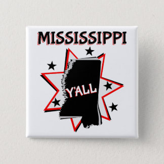 Mississippi State Y'all Button
