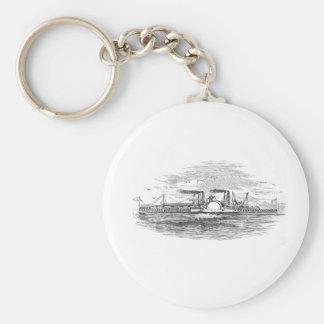 Mississippi Steamboat Keyring Key Chains