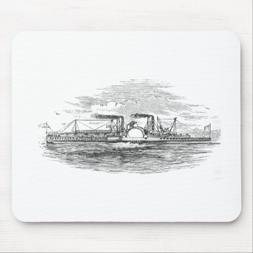 Mississippi Steamboat Mousepad