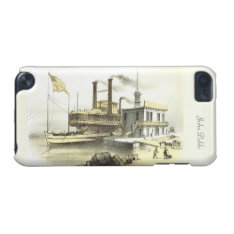 Mississippi Steamboat The City Of Memphis, 1860 Ipod Touch 5g Case at Zazzle