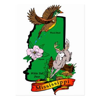 Mississippi Tarjeta Postal
