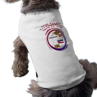 Mississippi Tax Day Tea Party Protest Dog Shirt