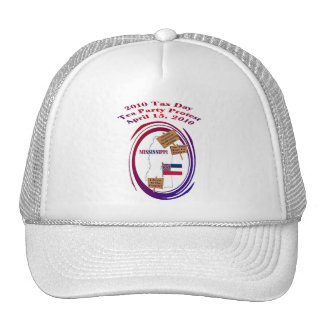 Mississippi Tax Day Tea Party Protest Trucker Hat