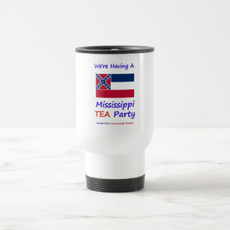 Mississippi TEA Party - We're Taxed Enough Already Coffee Mugs