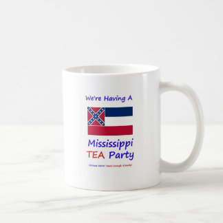 Mississippi TEA Party - We're Taxed Enough Already Mug