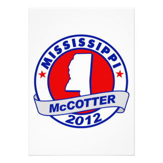 Mississippi Thad McCotter Announcements