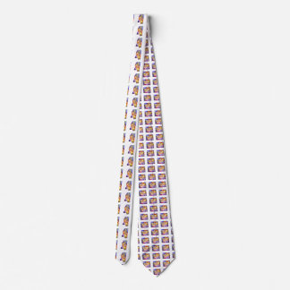 Mississippi U.S. State in watercolor text cut Tie