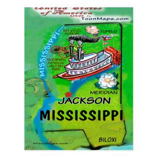 Mississippi USA Card