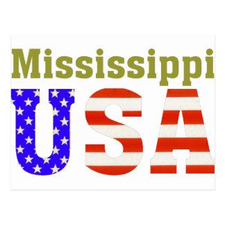 Mississippi USA! Postcard