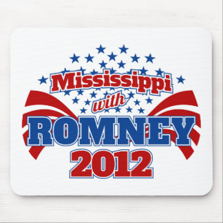 Mississippi with Romney 2012 Mouse Pad