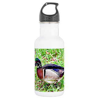Mississippi Wood Duck Stainless Steel Water Bottle