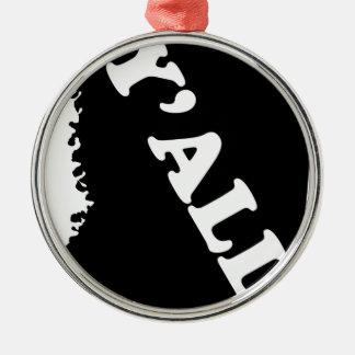 Mississippi Yall Metal Ornament