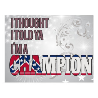 Mississippian and a Champion Postcard