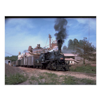 Mississippian RR 2-8-0 #76, switching_Trains Poster