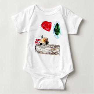 MissleEarth Baby Bodysuit