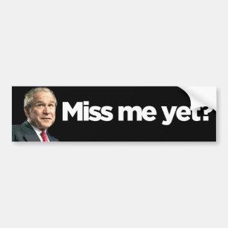 MissMeYet Bumper Sticker