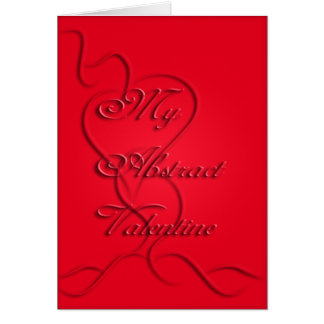 MissMissyLue's My Abstract Valentine Card