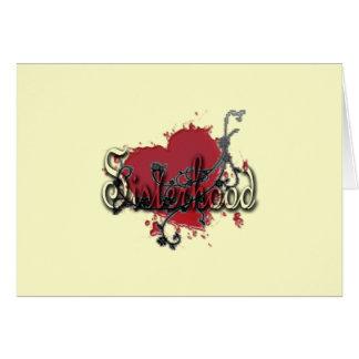 MissMissyLue's Sisterhood Greeting Card