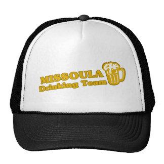 Missoula Drinking Team tee shirts Trucker Hat