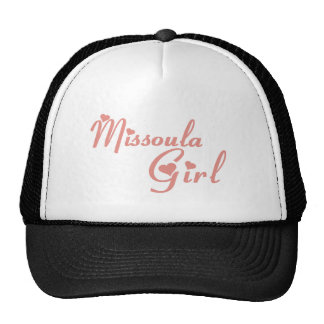 Missoula Girl tee shirts Trucker Hat