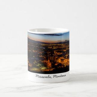 Missoula, Montana - taza de café