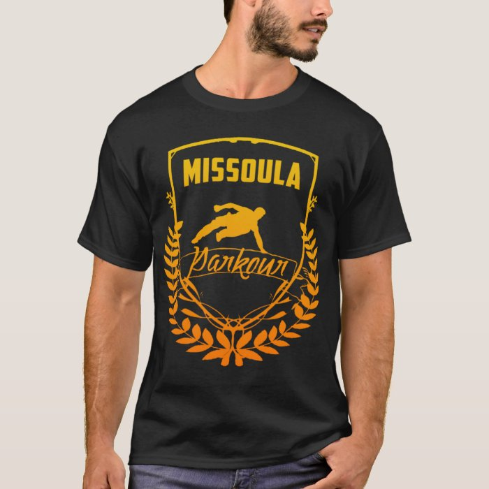 Missoula Parkour Shield T-Shirt