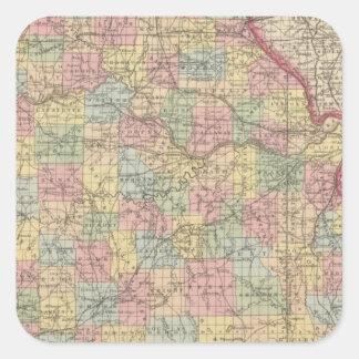 Missouri 10 square sticker