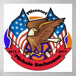 Missouri 2012 para Micaela Bachmann Poster