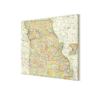 Missouri 3 canvas print