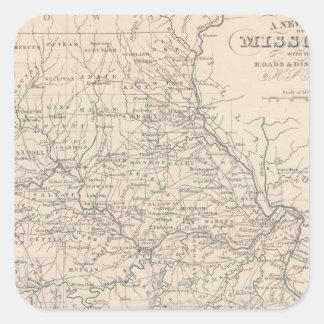 Missouri 3 square sticker