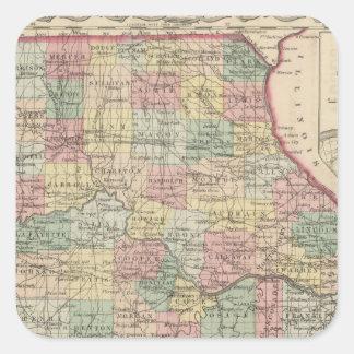 Missouri 4 square sticker