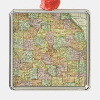 Missouri 6 metal ornament