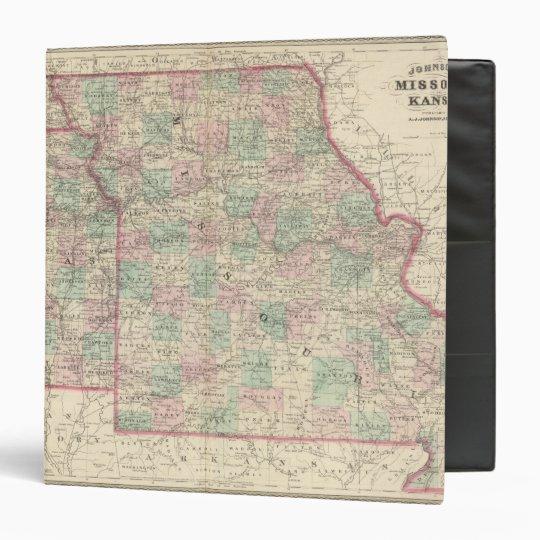 Missouri and Kansas 2 Binder
