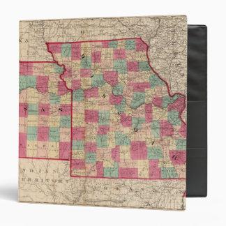 Missouri and Kansas Binder