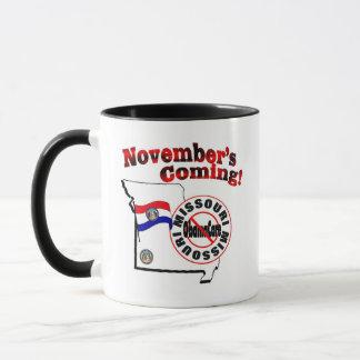 Missouri Anti ObamaCare – November's Coming! Mug