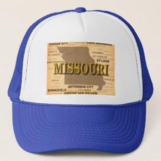 Missouri Antique Map Trucker Hat