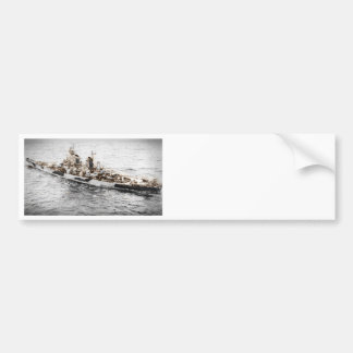 Missouri at Sea Bumper Sticker