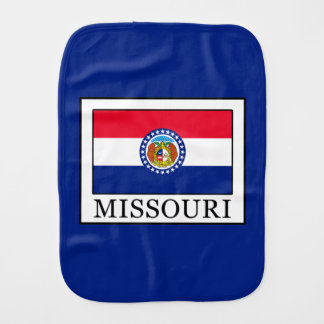 Missouri Baby Burp Cloth