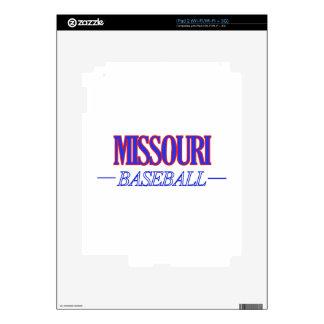 Missouri baseball DESIGNS iPad 2 Decal