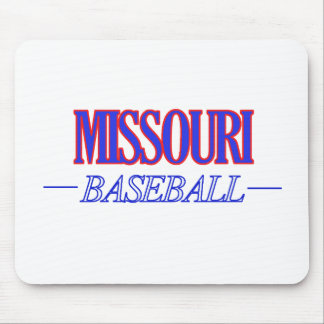 Missouri baseball DESIGNS Mouse Pad