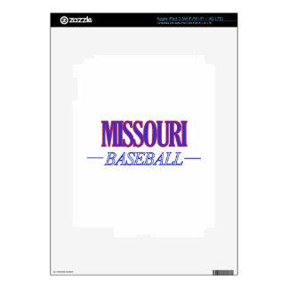 Missouri baseball DESIGNS Skins For iPad 3