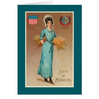 Missouri Belle Card