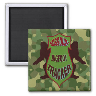 Missouri Bigfoot Tracker Magnet