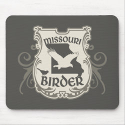 Mousepad with Missouri Birder design