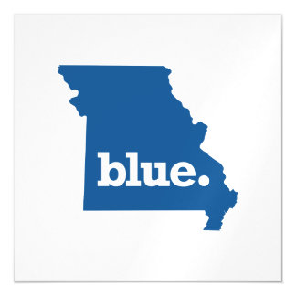MISSOURI BLUE STATE MAGNETIC CARD