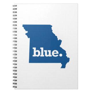MISSOURI BLUE STATE NOTEBOOK