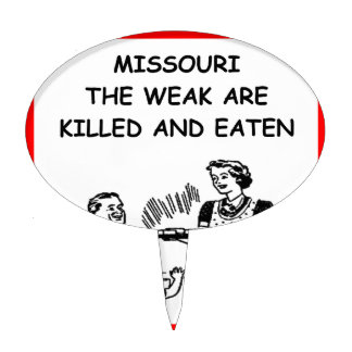 MISSOURI CAKE TOPPERS