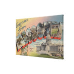 Missouri (Capital del Estado/flor) Lona Envuelta Para Galerias