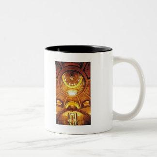 """""""Missouri Capitol"""" Watercolor Architecture Two-Tone Coffee Mug"""