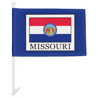 Missouri Car Flag